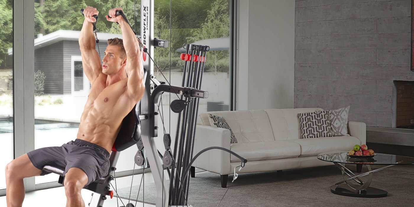 best bowflex home gym machines
